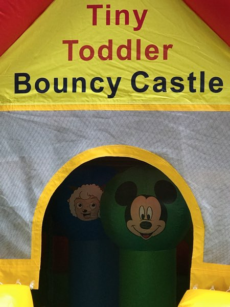 Tiny Toddler Bouncy Castle – Not for Adults!