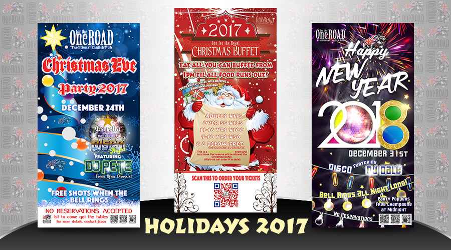 2017 Christmas and New Years Events at OFTR