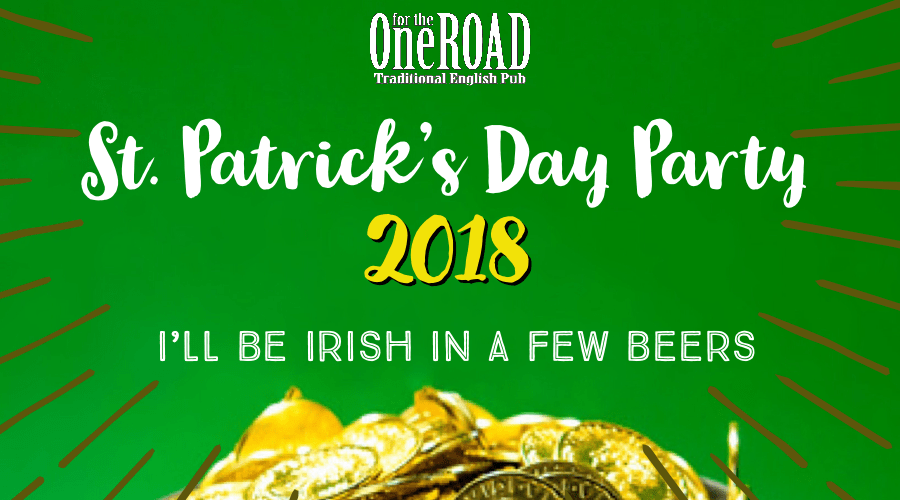 St. Patrick's Day Party 2018