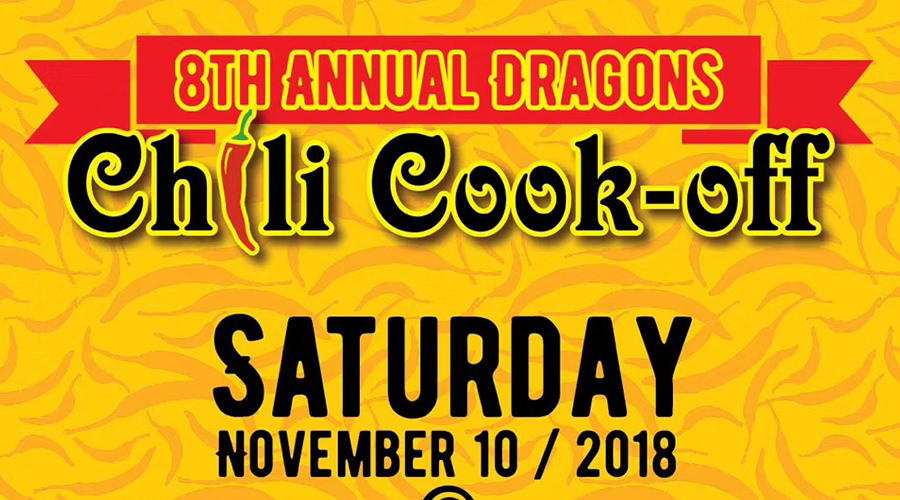 Dongguan Dragons 8th Annual Chili Cook-Off!