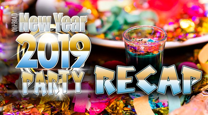 New Years Party @ OFTR Recap