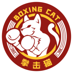 Boxing-Cat-Red
