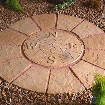 compass rotunda buff 1 2m