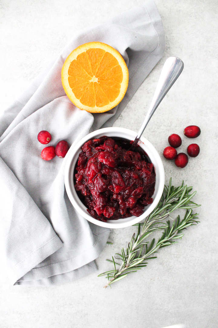 Chipotle Rosemary Cranberry Sauce
