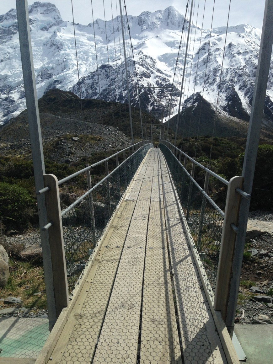 Hiking the Hooker Valley Trail, South Island, New Zealand