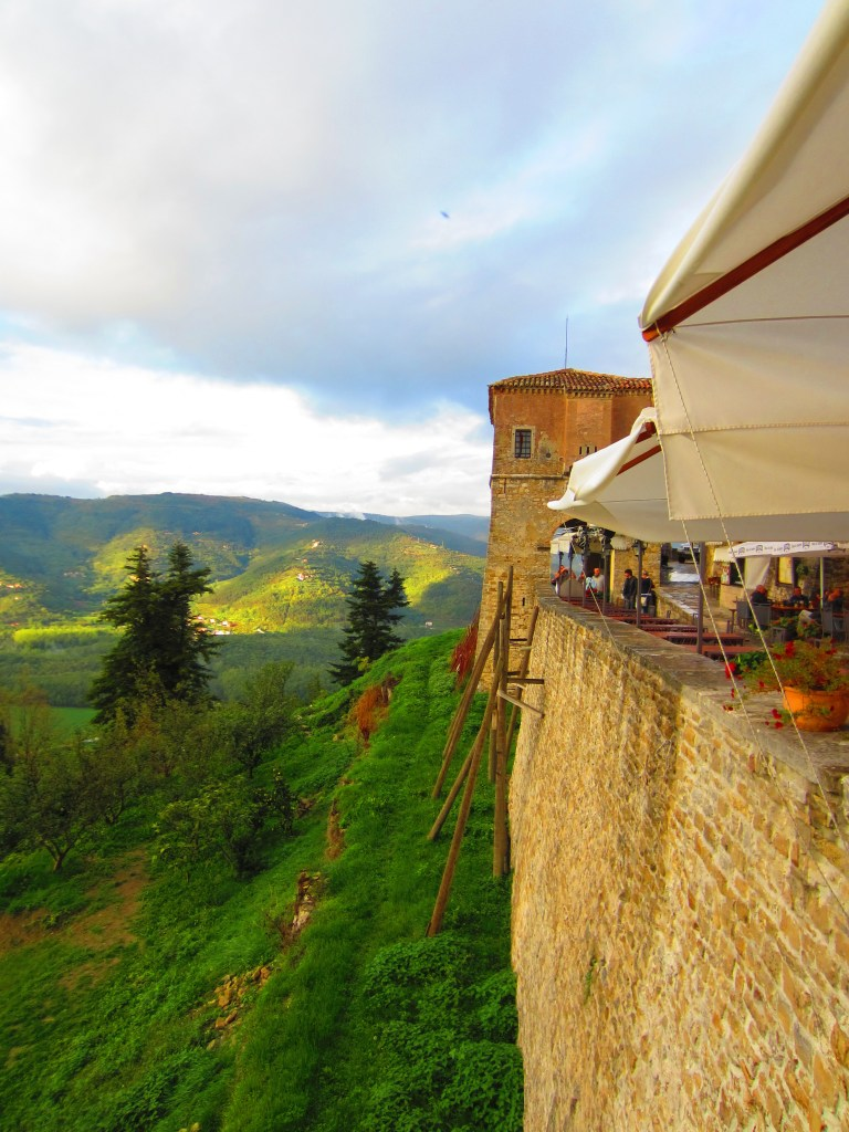 The medieval wall of Motovun...where to go in Croatia for the best views