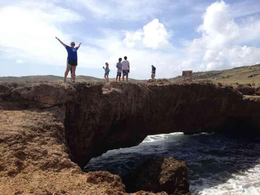 Visit Baby Bridge & see the ruins of Natural Bridge on an Aruban safari