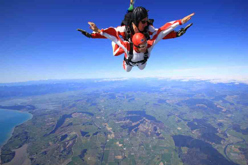 My 30th birthday present to myself...skydiving in New Zealand