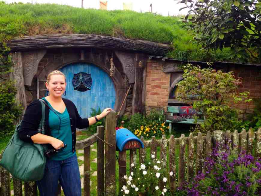 About halfway between Rotorua & Auckland, Hobbiton is fun even for people who aren't huge Lord of the Rings fans