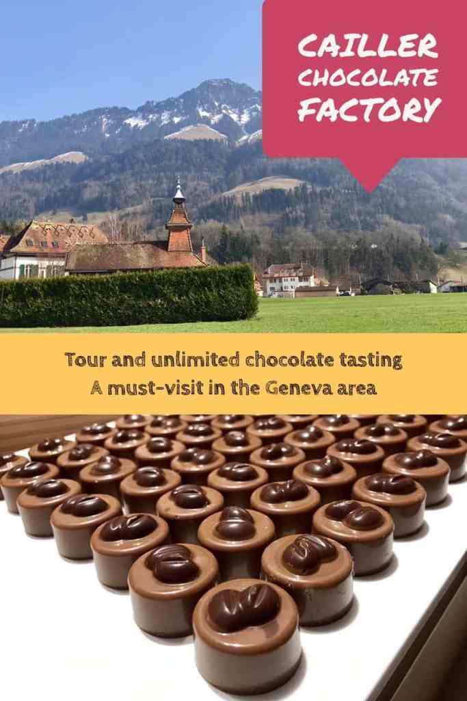 If you're going to be in the Geneva area you have to make time for a tour of Cailler Chocolate Factory #switzerland
