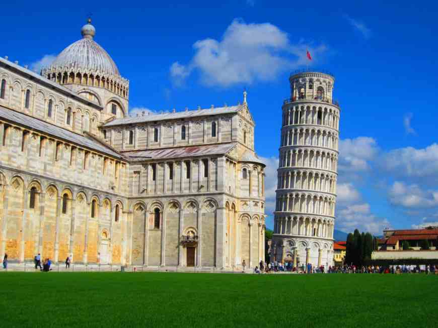 Pisa's Field of Miracles offers not only the famous Leaning Tower but gorgeous medieval architecture and history