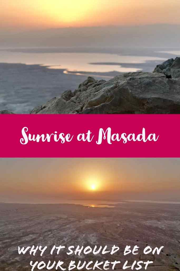 Why hiking Masada at sunrise is a must if you're in Israel...breathtaking views of the Dead Sea, history, following in the footsteps of thousands. Tips for finding a sunrise Masada tour, what to wear and bring, how to make the most of this experience.