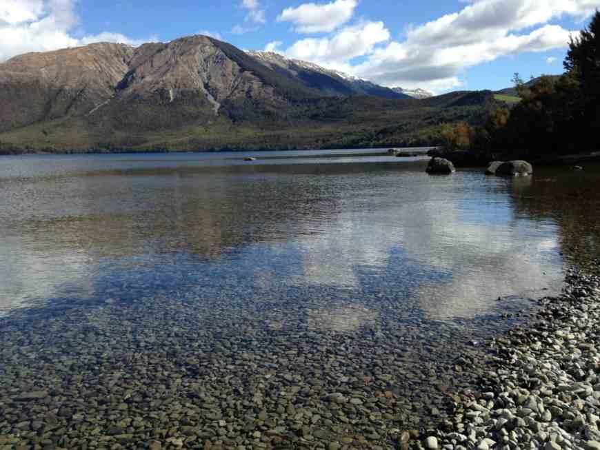 Lake Roitoiti in Nelson Lakes National Park, New Zealand