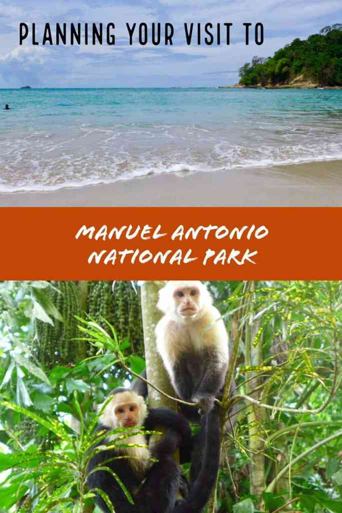 Tips for planning your trip to Manuel Antonio National Park in Costa Rica - where to go, what to see and do, where to eat. And lots of monkeys!