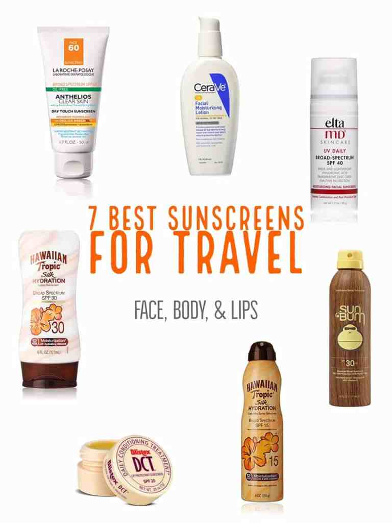 Face, body, & lip sunscreens that won't fail you. Best sunscreens for every kind of travel, that don't break the bank.