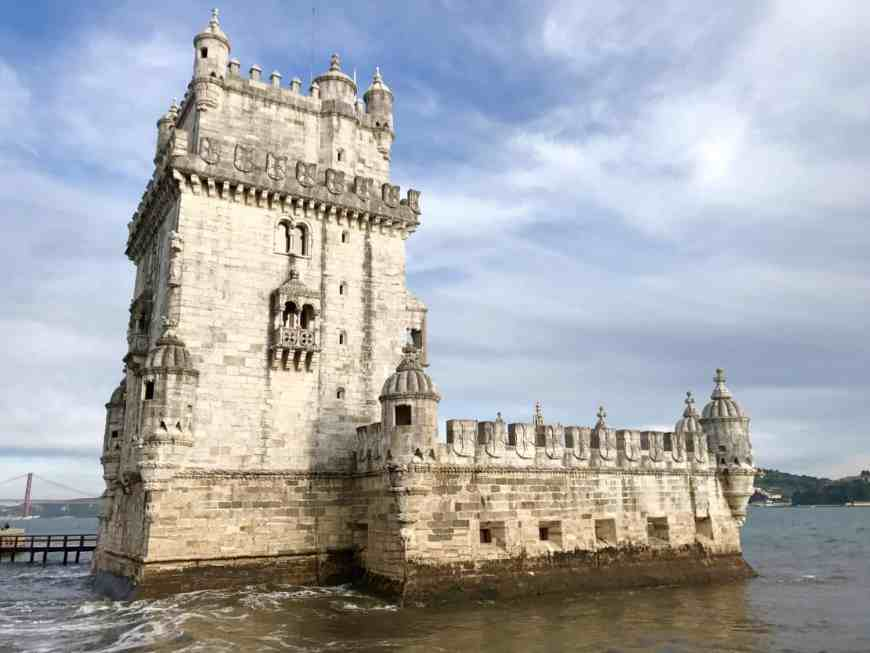 Lisbon's gorgeous Torre de Belem   10 things that have to be on your Lisbon itinerary   24 hours in Lisbon   1-day lisbon itinerary   Lisbon travel tips   Portugal itinerary ideas