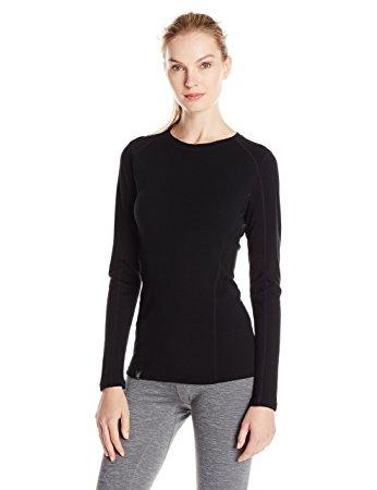 ibex merino wool crew shirt