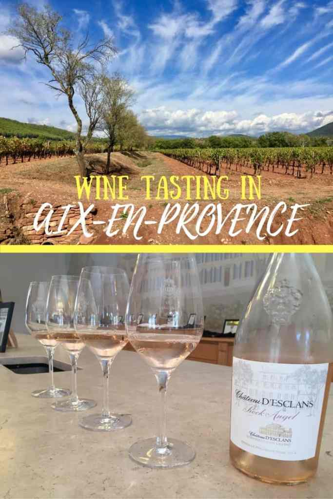 A visit to the French Riviera isn't complete without touring the wineries in Provence! Tips from the wine tour we took, which wineries we visited in Aix-en-Provence. Rose all day!