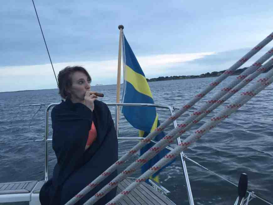 Sailing in Sweden...renting a sailboat on Airbnb (with captain) & sailing in the Gothenburg archipelago was one of the most unique travel experiences I've ever had. All about our trip, how we found the boat, and why you should consider sailing in Sweden with an Airbnb sailboat rental | Sweden itinerary planning, how to plan your trip to Gothenburg