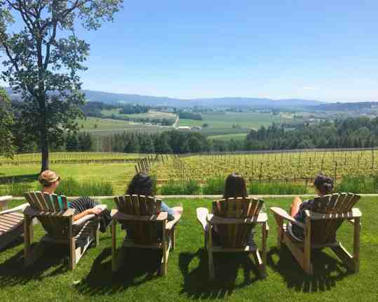 Penner-Ash Vineyard in the Willamette Valley, where to eat, how to plan your trip   Everything you need to know for a visit to the Willamette Valley, Portland itinerary, wine weekend in Oregon, the perfect girls' trip #willamette #wineries #oregon
