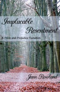 Book Cover: Implacable Resentment