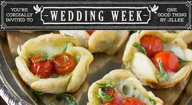 pesto wedding tarts