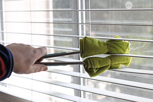 The Best Way To Clean All The Blinds In Your House One