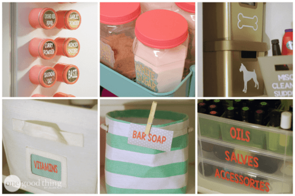 3-Simple DIY Organizing Projects