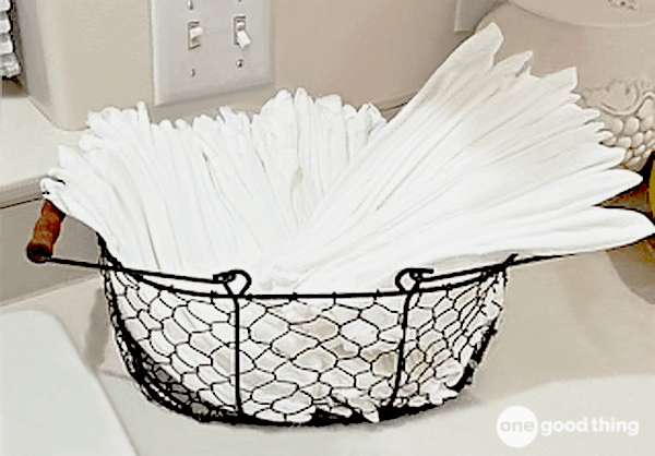 kicking the paper towel
