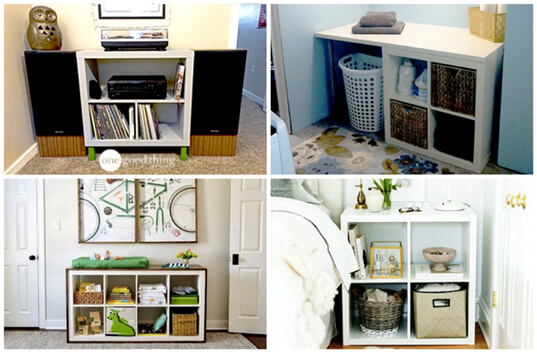 Transforming And Elevating The Storage Cube  Jillee