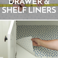 Kitchen Shelf Liners Contemporary Decor Instantly Update The Look Of Your With Diy ...