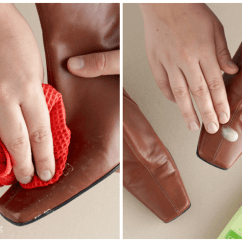 How To Remove Hair Dye Stain From Leather Sofa Chenille Set Clean Salt Stains Shoes In 4 Easy Steps Jillee Removing