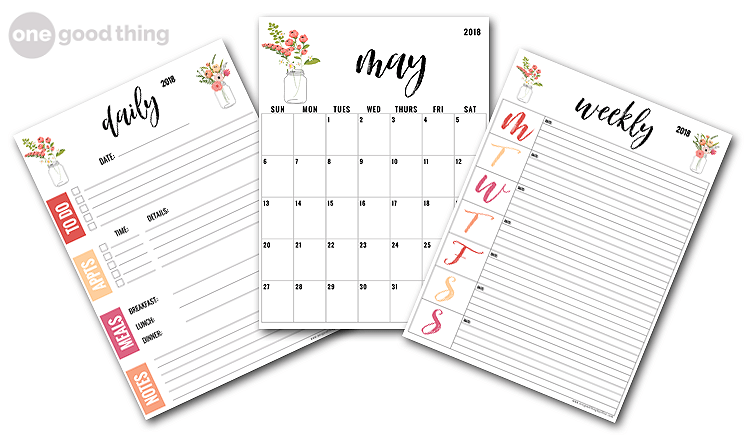 33 Of Our Best Organizing Tips and FREE Printable Planners