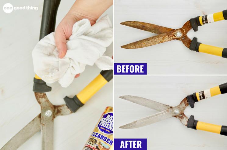 Vinegar And Salt To Remove Rust