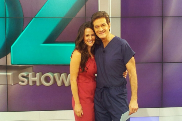 Dr. Oz Picture 10-5-2011 Julieanna Hever