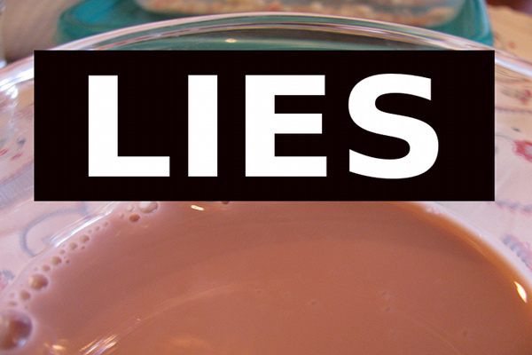 chocolate milk dairy lies