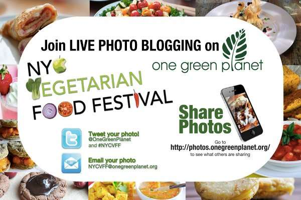 Join the LIVE Photo Blogging Madness at the NYC Vegetarian Food Festival!