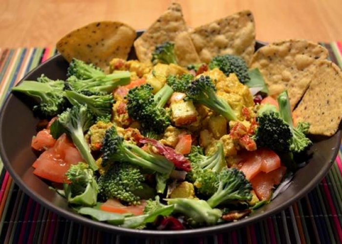 Recipe: Mock Chicken Salad