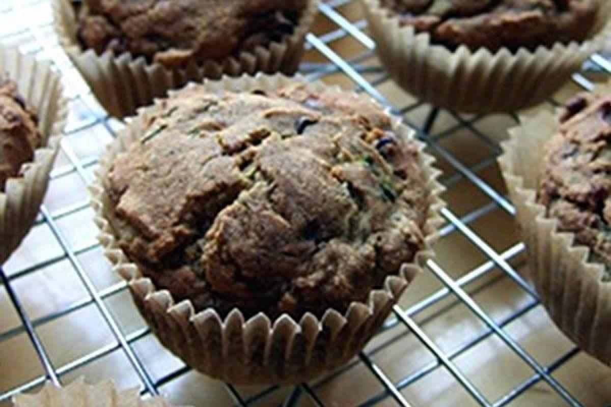 Recipe: Chocolate Chip Zucchini Muffins