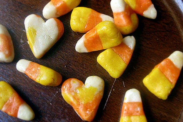 Recipe: Vegan Candy Corn