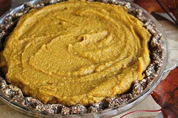 Recipe: Raw Pumpkin Pie