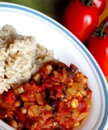 Sweet and Savory Vegan Slow Cooker Chili