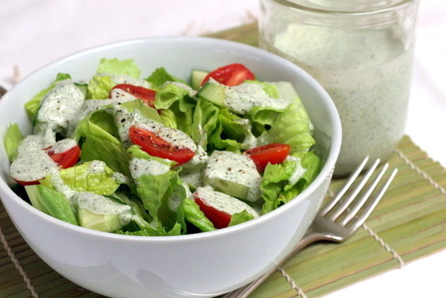 Recipe: Creamy Lemon Herb Dressing