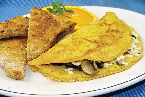 Recipe: Vegan Soufflé Omelet