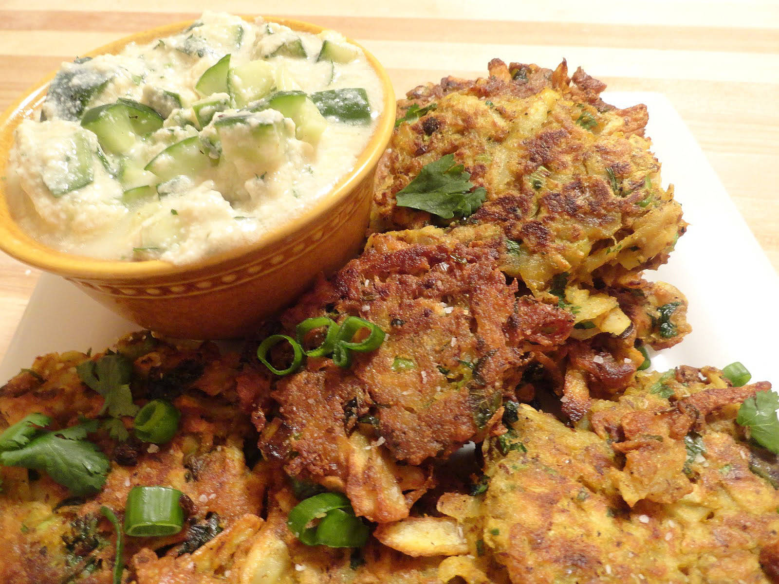 Indian Latkes