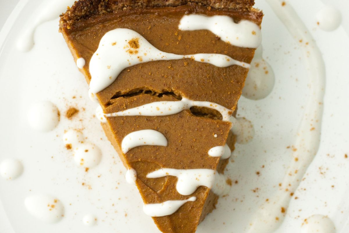 Simple and Healthy Pecan Pumpkin Pie1