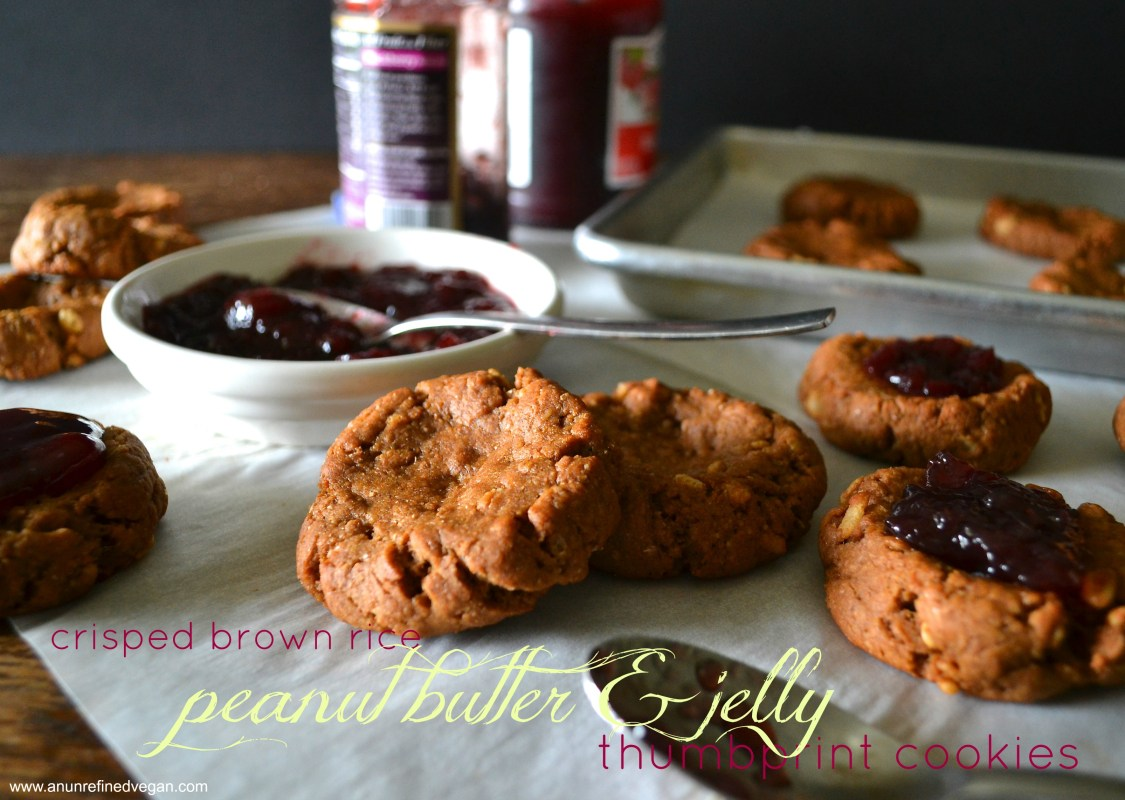 PB & Jelly Thumbprint Cookies