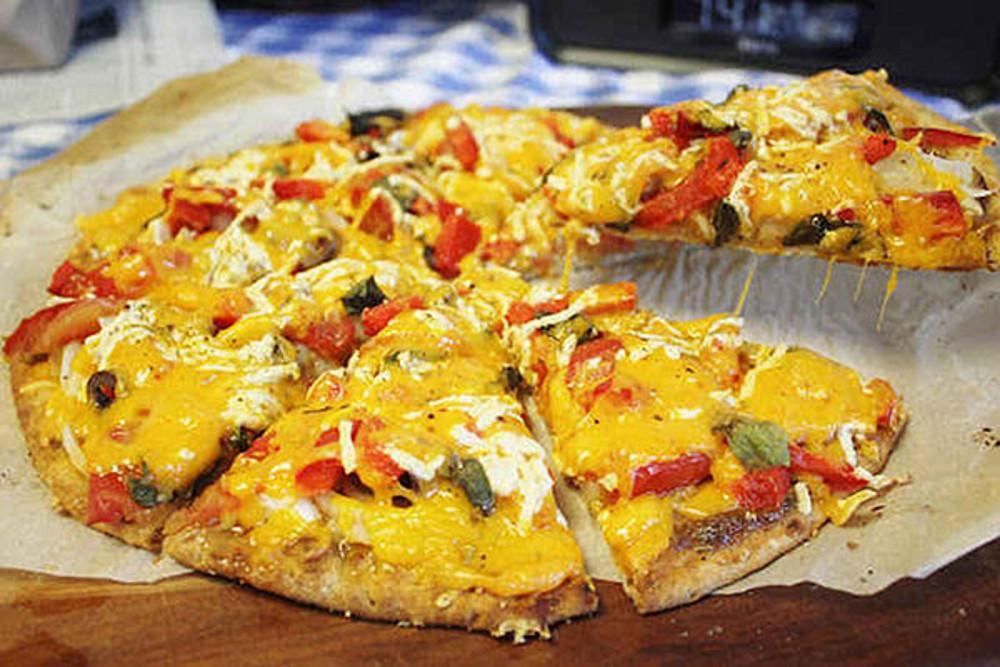 Three-Cheese-Vegan-Pizza
