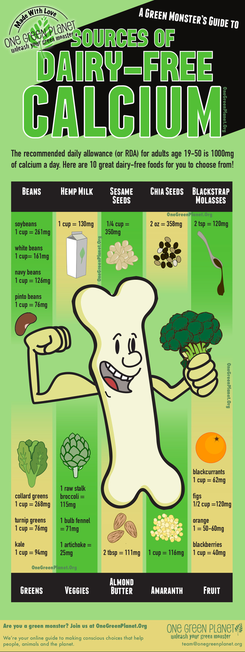The Importance of Calcium and How to Get Enough Without Dairy ...