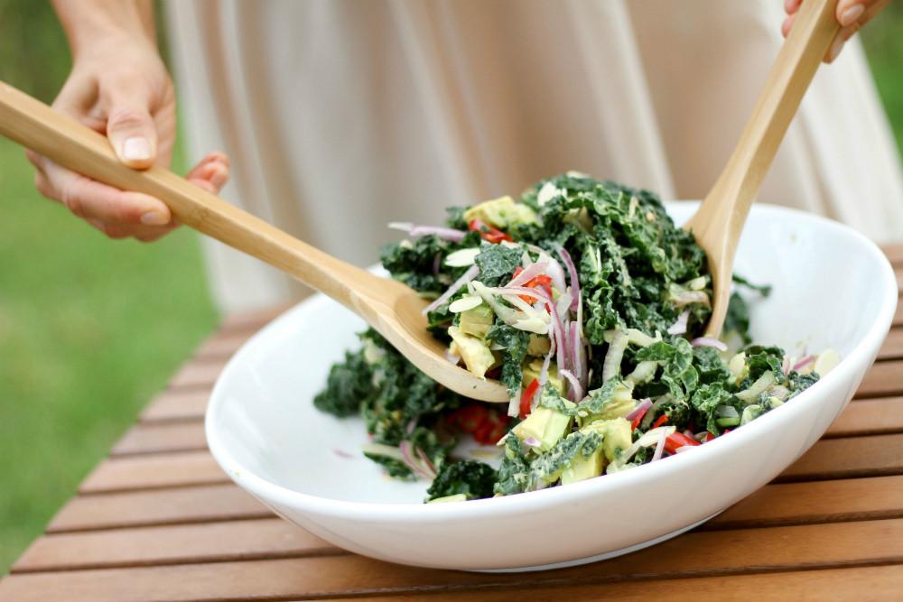 Avocado-Kale-Chilli-Salad